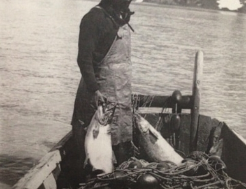 Tlingit Fisherman on the Taku
