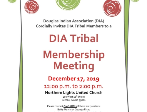 DIA Tribal Membership Meeting 2019