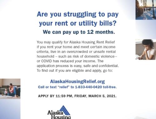 Alaska Housing Rent Relief