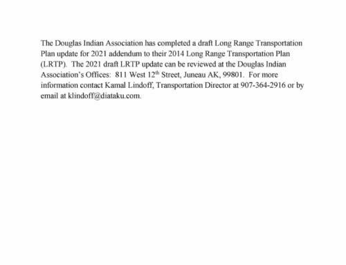 DIA LRTP Update 2021